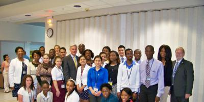 24 students chosen for 6-week summer internships