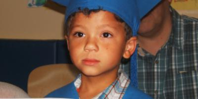 These graduates are headed to ... kindergarten