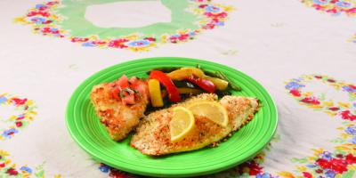Healthy Monday recipe: Herb-topped baked tilapia