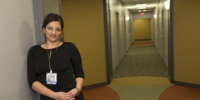 Psychiatrist/breast cancer survivor cares for cancer patients