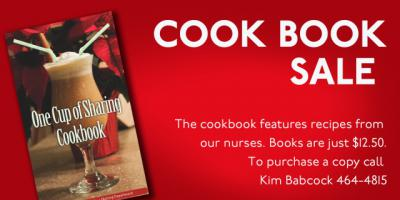 "Nurses create ""One Cup of Sharing"" cookbook"