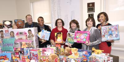 Toy drive helps fill Santa's sleigh