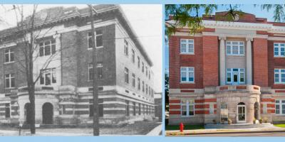 Syracuse Free Dispensary, Then and Now