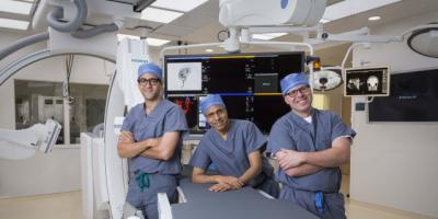 Upstate welcomes Gould, Masoud to region's first stroke team