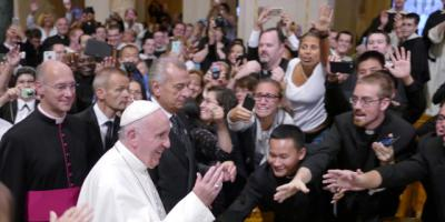 An audience with the pope reverberates at Upstate