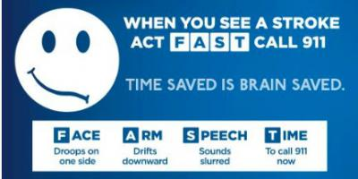 Sudden weakness, numbness, trouble speaking or seeing? Quickly get to hospital for stroke evaluation