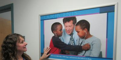 New Upstate displays honor students, faculty, patients and providers