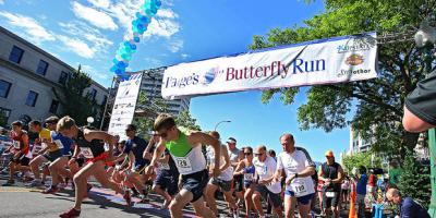Want to support Paige's fund for kids with cancer but reluctant to run a race?