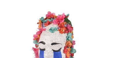 Art from adversity: Students transform radiation masks into artistic décor