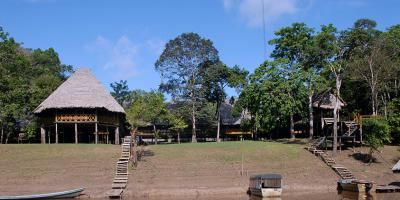 Amazon ecolodge becomes enduring hobby for father and son eye doctors