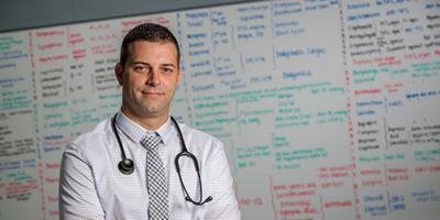 Patients receive medical care – and education
