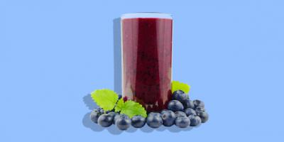 Quick and easy recipe: Blueberry Ginger Kale Smoothie
