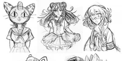 Talent and imagination: Teen artist spends chemotherapy time drawing original characters