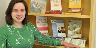 Ask her for help: Cancer Center librarian enjoys finding answers for patients, the public